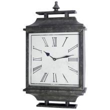 Brinton Rectangular Modern Wall Clock