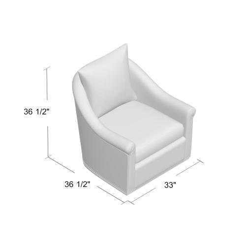 Birdscript Swivel Chair