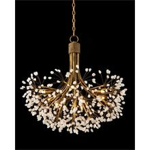Quartz Nine-Light Chandelier