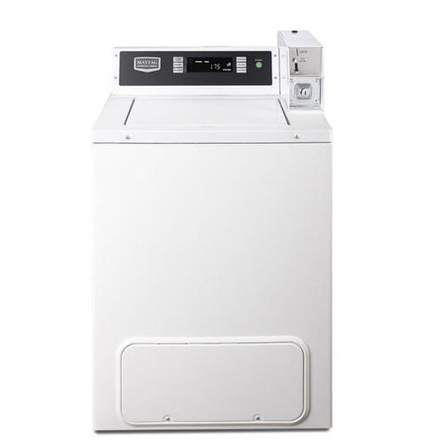 Maytag Commercial - Maytag® Commercial Energy Advantage™ Top Load Washer, Microprocessor Controls-Coin Drop-Ready