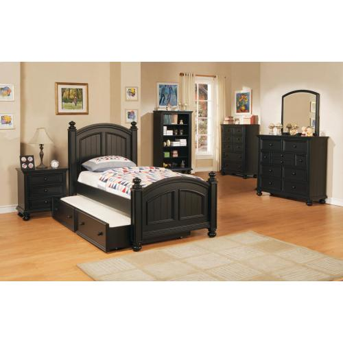 Gallery - Panel Twin Bed $459 and Trundle Box Add $339