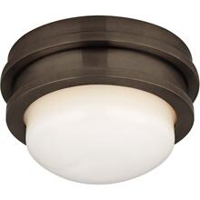 Visual Comfort CHC4600BZ-WG E. F. Chapman Launceton LED 5 inch Bronze Flush Mount Ceiling Light, Petite