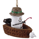 S'mores Fishing Boat Ornament Product Image