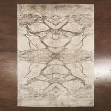 Mirror Match Marble Rug-Neutrals-6 x 9