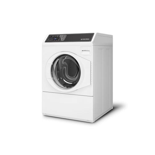 Gallery - FF7 White Right-Hinged Front Load Washer with Sanitize  5-Year Warranty