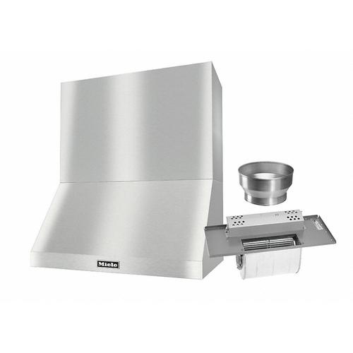 """DAR 1230 Set 9 Wall-Mounted Range Hood with Extraction Mode with integrated XL motor including 24"""" chimney cover"""