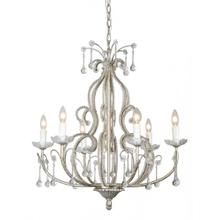 Riverlight 6-lt Beaded Crystal Chandelier
