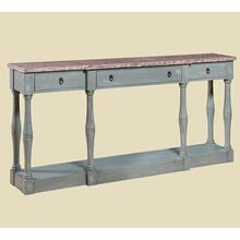 """See Details - """"Cottage"""" Seafoam Narrow Console"""