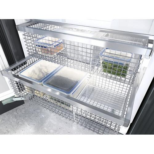 F 2901 Vi MasterCool freezer For high-end design and technology on a large scale.
