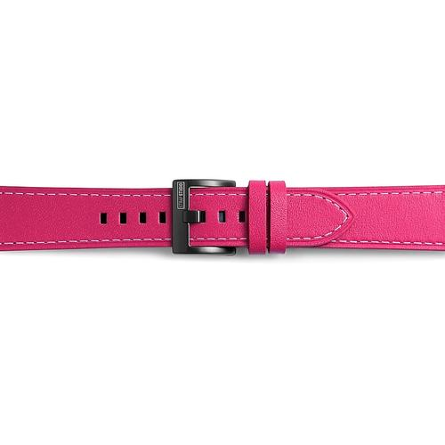 Samsung - Classic Leather Band for Galaxy Watch 42mm & Gear Sport, Pink