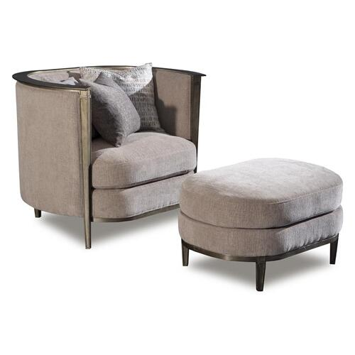 Magnussen Home - Pewter Chair