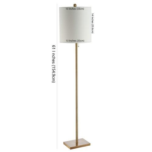 Octavius Floor Lamp - Brass Gold