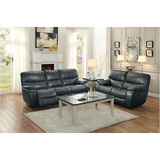 Pecos Power Reclining Sofa Grey