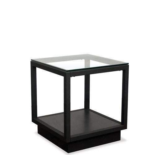Side Table - Textured Black Finish