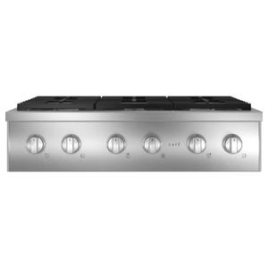 "Cafe Appliances36"" Commercial-Style Gas Rangetop with 6 Burners (Natural Gas)"