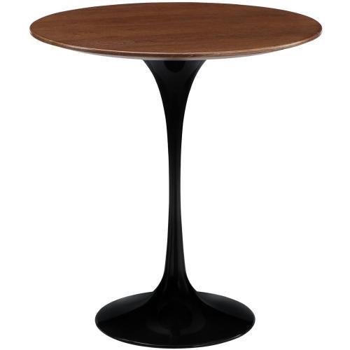 """Lippa 20"""" Wood Side Table in Black"""