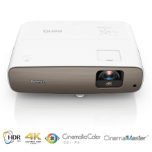True 4K HDR Projector with DCI-P3/Rec.709, UHD and HDR-PRO  HT3550