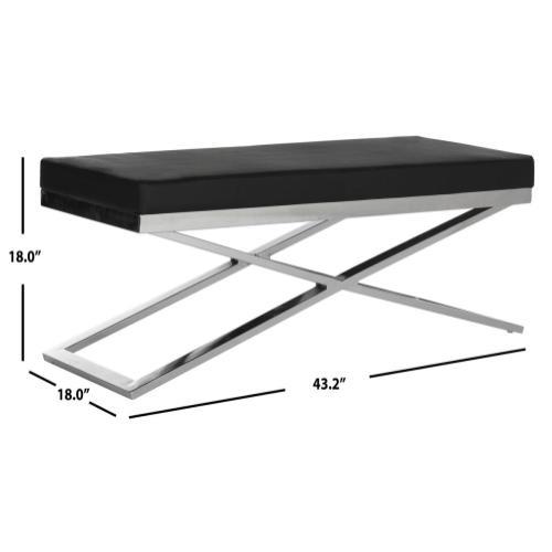 Acra Bench - Black / Silver