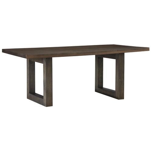 Standard Furniture - Trenton Trestle Dining Table, Brown