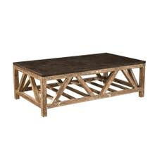 Old Fir and Bluestone Coffee Table