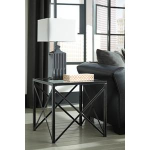 Timber and Tanning Square End Table