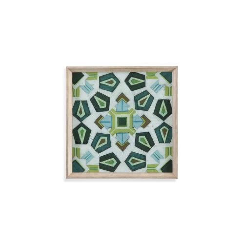 Bassett Mirror Company - Palm Piazza Tile III