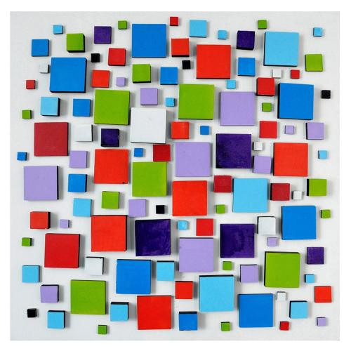 """Crestview Collections - """"COLOR BLOCK"""""""