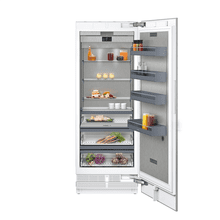 "400 series 400 series refrigeration column With fresh cooling 32 °F Fully integrated Niche width 30"" (76.2 cm)"
