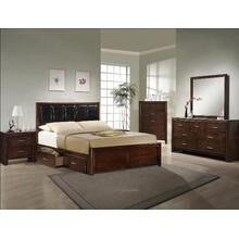 Millie 5pc Bedroom Group in Brown Cherry        (B9250)