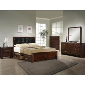 Millie Bed In One Box -brown Cherry