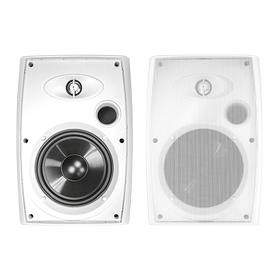 """6.5"""" Two-Way Outdoor Speakers (White)"""