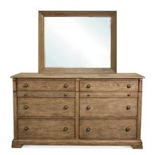 Sherborne Landscape Mirror Toasted Pecan finish