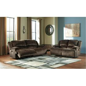 Clonmel Power Reclining Sofa and Loveseat Chocolate