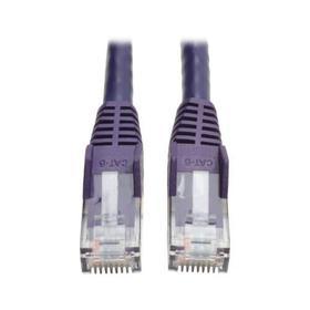 Cat6 Gigabit Snagless Molded (UTP) Ethernet Cable (RJ45 M/M), Purple, 25 ft. (7.62 m)