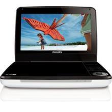 "9"" LCD 5-hr playtime Portable DVD Player"