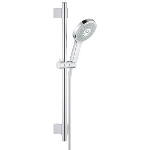"""Power&soul Cosmopolitan 24"""" Shower Slide Bar Kit - 4 Sprays, 2.5 Gpm"""