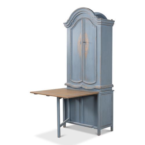 Blue Dress Secretary