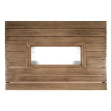 """Woodlands 42"""" x 60"""" Rectangular Fire Table Top with Burner Cover"""
