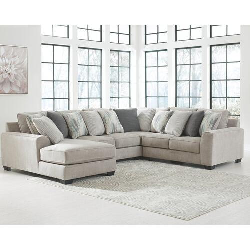 Ashley - 4-piece Sectional With Ottoman