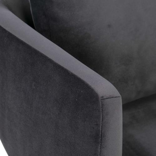 Tov Furniture - Alto Grey Velvet Dining Chair