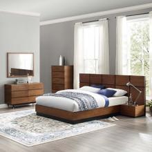 See Details - Caima 6-Piece Bedroom Set in Walnut
