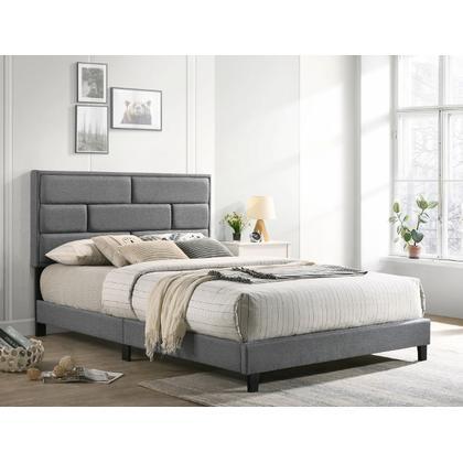 See Details - Flannery King Platform Bed Grey