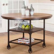 See Details - Table - Rustic Elm Industrial