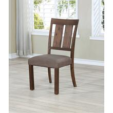 See Details - 7702 Wire Brushed Dining Chair