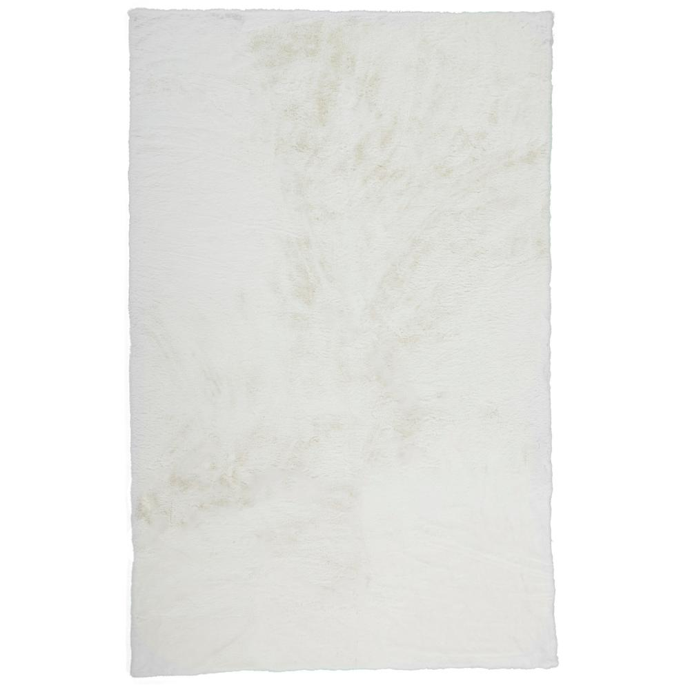 "LUXE VELOUR 4506F IN WHITE 1'-10"" X 1'-10"" Pillow"