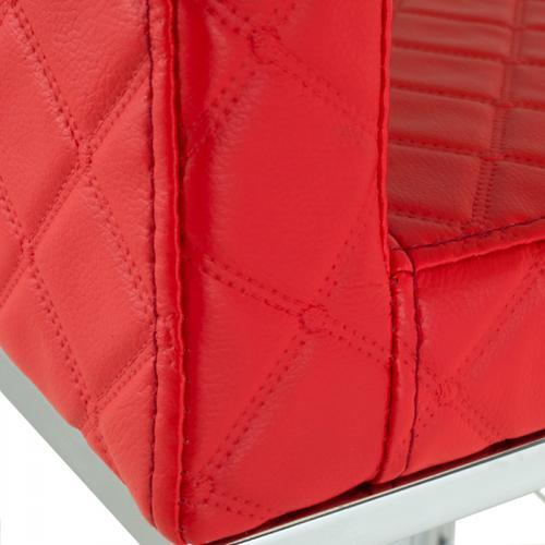 Modrest Folsum Modern Red Bar Stool