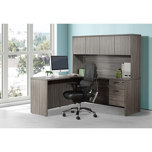 Office Star - Vertical Black Mesh Chair