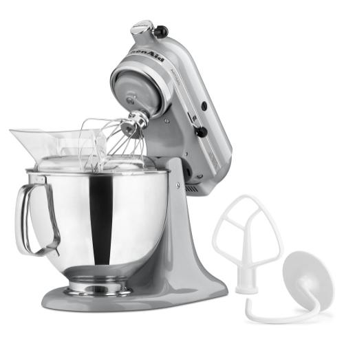 Artisan® Series 5 Quart Tilt-Head Stand Mixer - Metallic Chrome