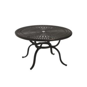 "Spectrum 43"" Round KD Chat Umbrella Table"