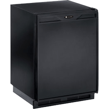 "Black 110V, Field reversible Marine/RV 24"" Freezer"